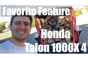 My Favorite Feature Video- Honda Talon 1000X-4 Cargo Bed