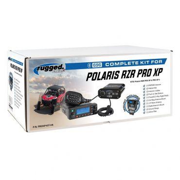 Rugged Radios Polaris RZR Pro XP Complete UTV Communication Kit