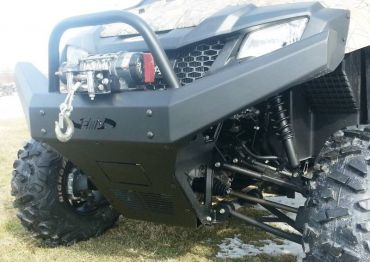 EMP Pioneer 700 & 700-4 Front Brush Guard With Winch Mount