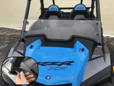 EMP 2019+ RZR Half-Windshield