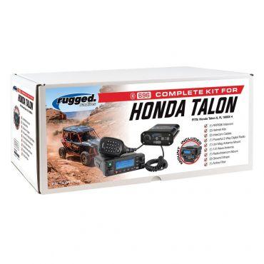 Rugged Radios Honda Talon Complete UTV Communication Kit