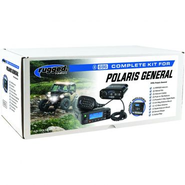 Rugged Radios Polaris General Complete UTV Communication Kit