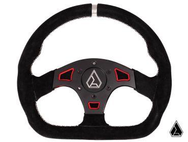 """Assault Industries Suede Ballistic """"D"""" Steering Wheel"""