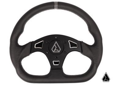"""Assault Industries Suede Ballistic """"D"""" V2 Steering Wheel"""