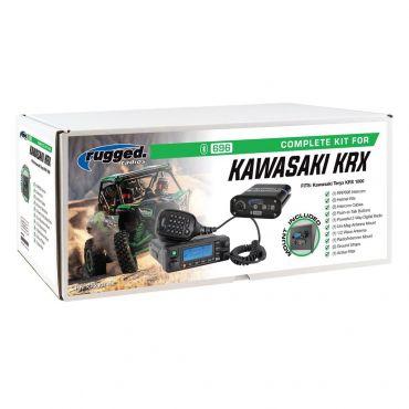 Rugged Radios Kawasaki Teryx KRX 1000 Complete UTV Communication Kit