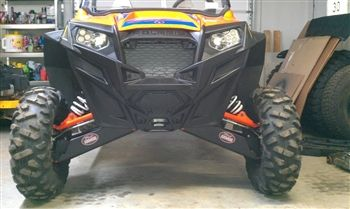 Trail Armor RZR XP 900 & RZR XP 4 900 iMpact UHMW Front A-Arm Guards
