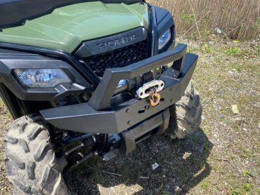 EMP Pioneer 500 & 520 Brush Guard With Winch Mount