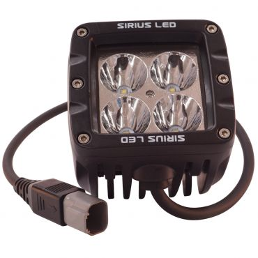 "Sirius 2"" LED Dually Driving Light With Diffusion"