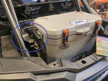 EMP RZR Cooler Mounting Bracket Kit For Ozark 26 Cooler