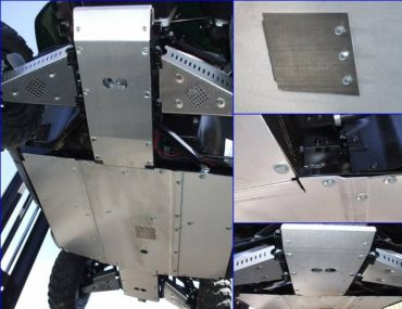 EMP Teryx 750 Aluminum Skid Plates