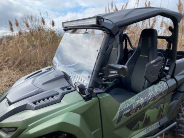 EMP 2021+ Wolverine Full Windshield With Vent