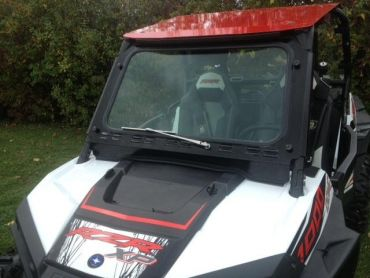 EMP RZR Laminated Safety Glass Full Windshield With Wiper