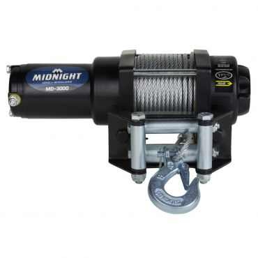 Viper Midnight 3000LB Winch