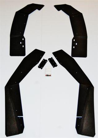 Trail Armor RZR Mud Flap Fender Extensions
