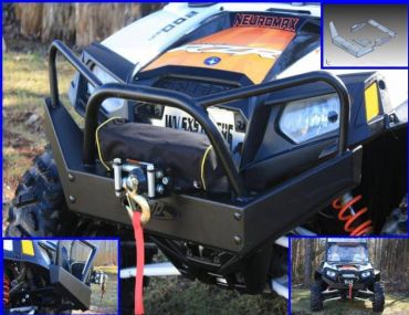 EMP RZR Outback Edition Front Bumper / Brush Guard With Winch Mount
