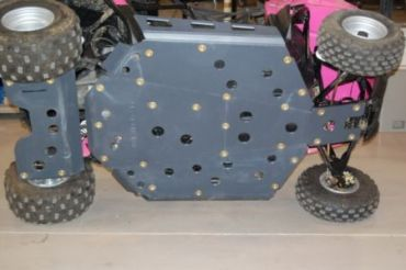 Trail Armor RZR 170 Full Skids With Integrated Side Nerfs and Rear Swing Arm Skid