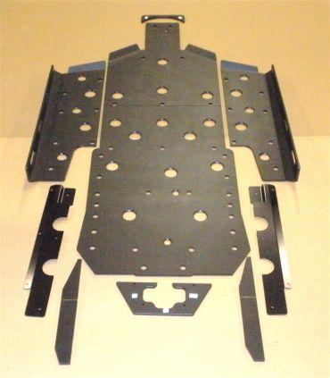 Trail Armor RZR XP 900 Full Skids with Slider Nerfs