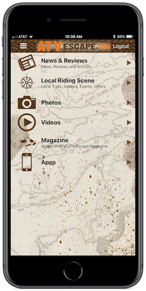 ATV ESCAPE App