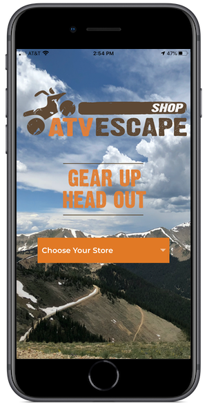 Shop ATV ESCAPE Mobile App- Choose ATV-UTV Family Store