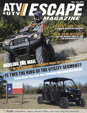 ATV & UTV ESCAPE Magazine