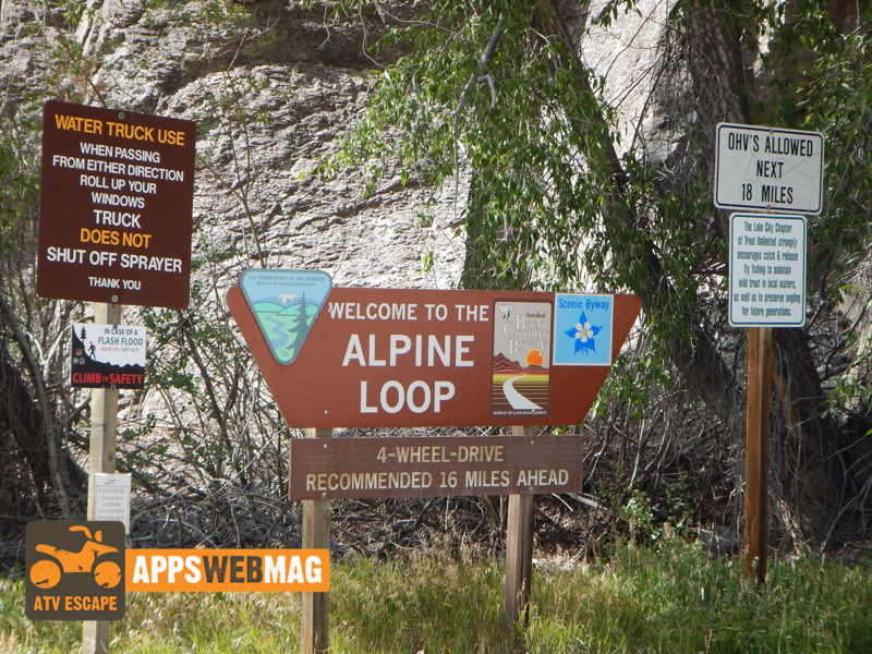 Off-Road Adventure Destination- Alpine Loop Lake City, Colorado