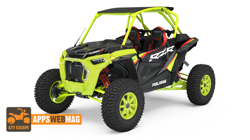 2021 Polaris RZR XP Turbo S Lift Lime Edition